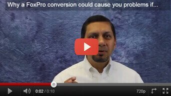 Why a FoxPro conversion could cause you problems if...
